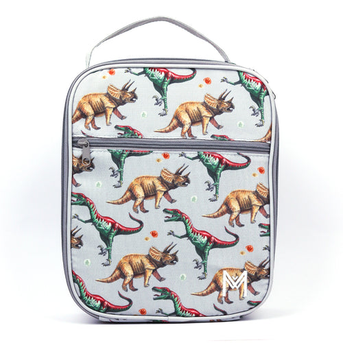 MontiiCo Insulated Lunch Bag Dinosaurs