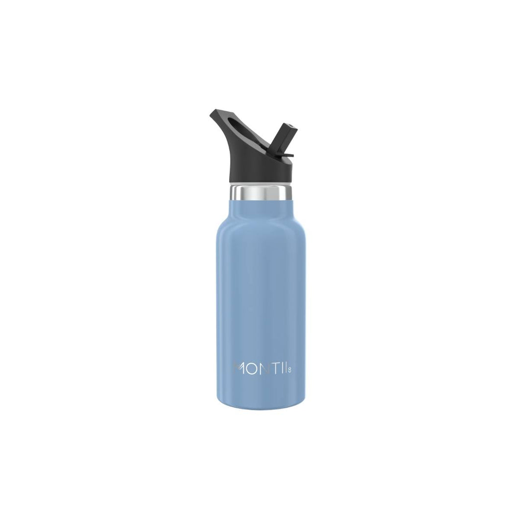 MontiiCo Mini drink bottle Slate