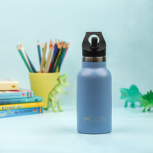 Load image into Gallery viewer, MontiiCo Mini drink bottle Slate