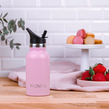 Load image into Gallery viewer, MontiiCo Mini drink bottle Dusty Pink