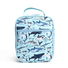 Load image into Gallery viewer, MontiiCo Insulated Lunch Bag Shark