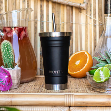 Smoothie cup black