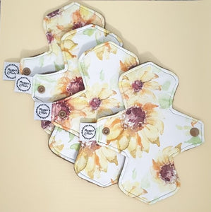 Set of 4 Reusable Panty Liners
