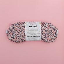 Load image into Gallery viewer, Pink Leopard eye mask