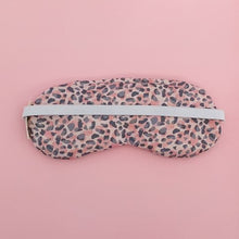 Load image into Gallery viewer, Eye Mask - Pink Leopard