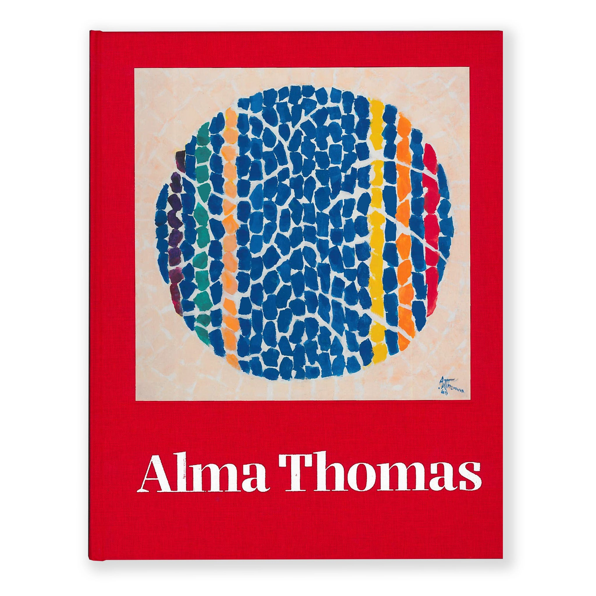 Alma Thomas Color Field abstract geometric book monograph scma Smith College Museum of Art