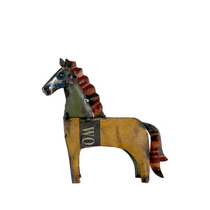 Horse of Up-cycled Metal