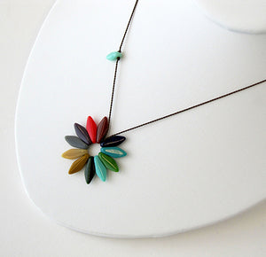 I. Ronni Kappos Colorwheel Necklace