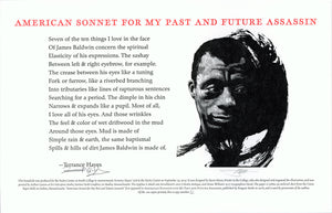 Terrance Hayes Barry Moser broadside print poem poetry center face scma smith college museum of art