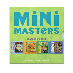 Degas, Monet, Matisse, Van Gogh board book infant children children's mini masters rhyme rhyming colorful scma smith college museum of art
