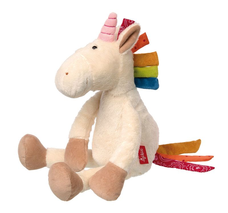 patchwork stuffed animal children children's infant baby toy soft scma smith college museum of art unicorn horse