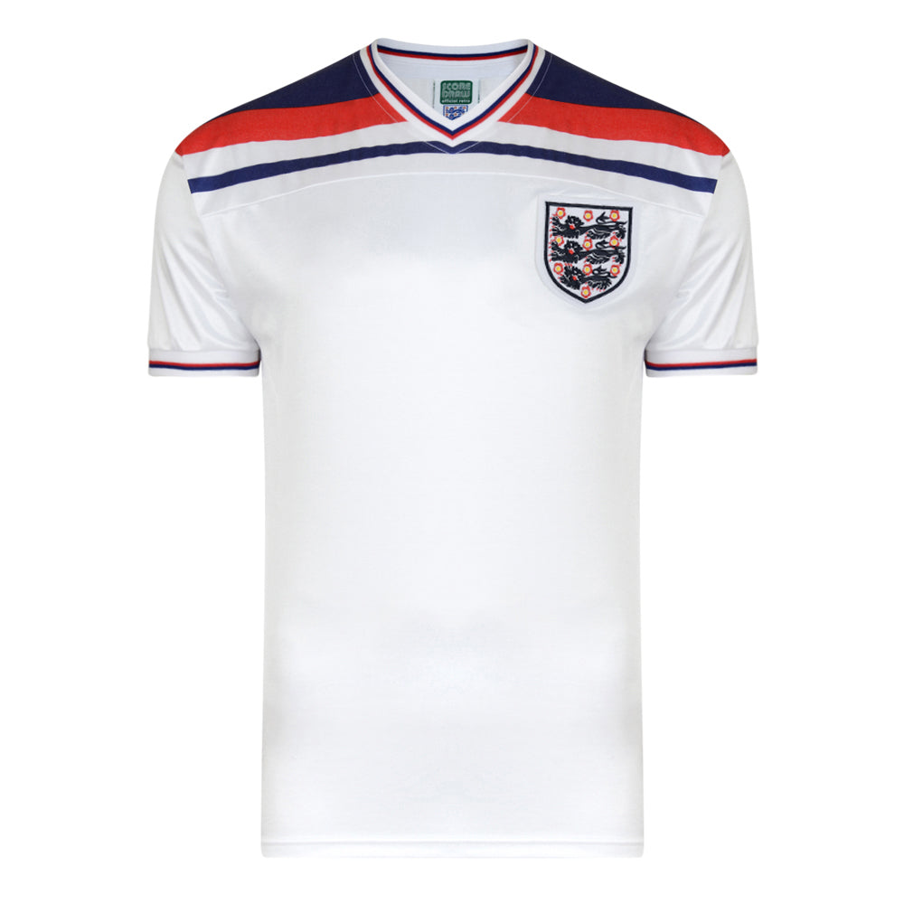 England 1982 World Cup Finals Home Retro Shirt
