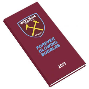 WEST HAM FC OFFICAL 2019 DIARY