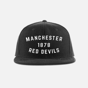 Manchester United FC Red Devils Snapback Hat - Premier League soccer football snapback hat