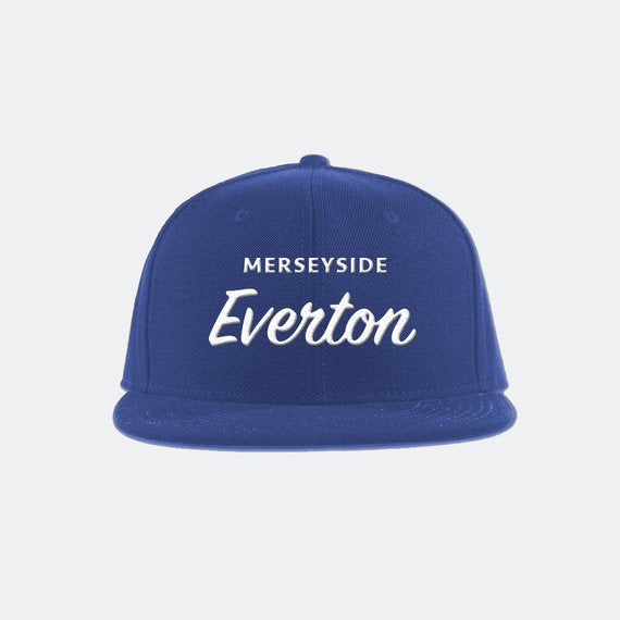 Everton FC Classic Snapback Hat - Premier League soccer football snapback hat