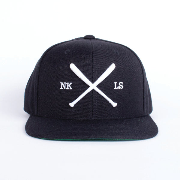 The Bat Snapback Black