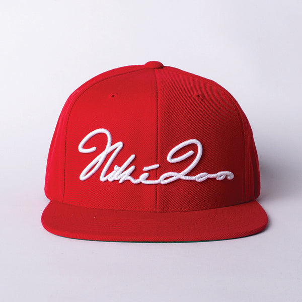 Signature Snapback Red