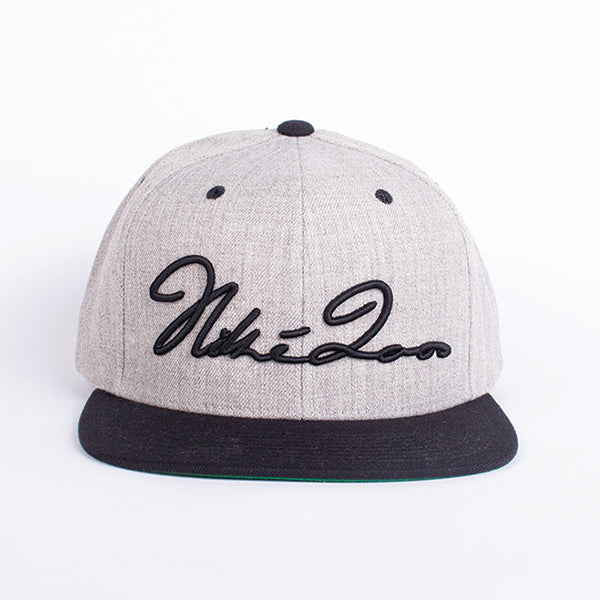 Signature Snapback Heather Grey / Black