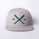 The Bat Snapback Heather Grey