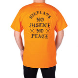 No Justice T-Shirt Orange
