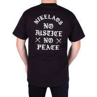 No Justice T-Shirt Black