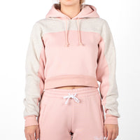 Alicia Hoodie, Dust Pink/ Heather Grey