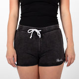 Signature Washed Short, Black Washed