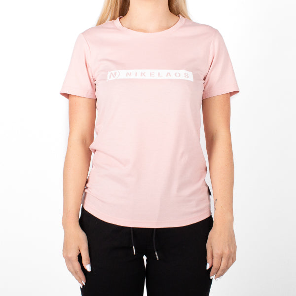 Box Logo T-Shirt, Dust Pink