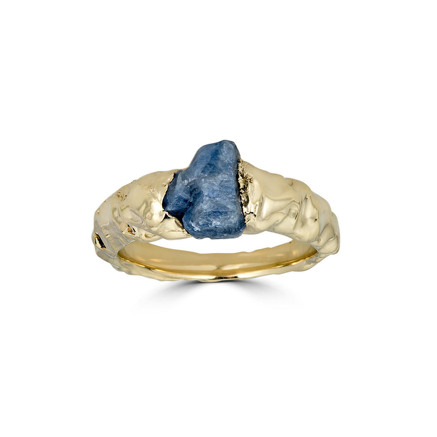 Rough Sapphire Ring