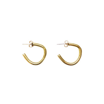 Rugged Hugger Hoops, Brass