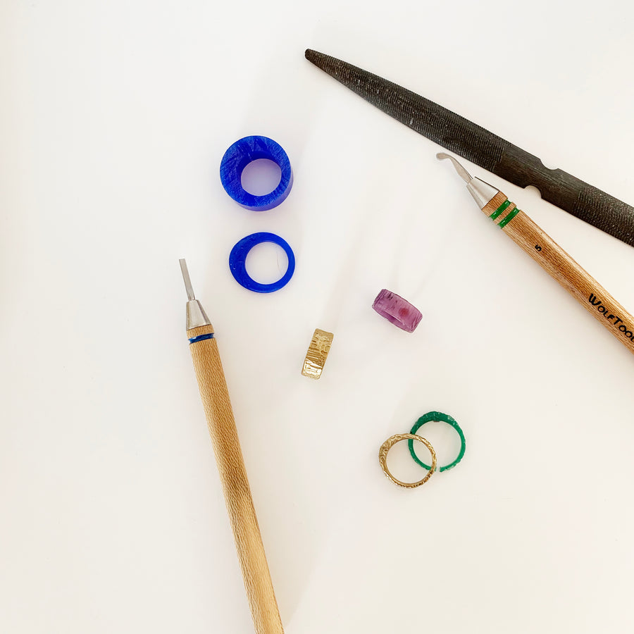 Make Your Own Ring - Wax Carving Class
