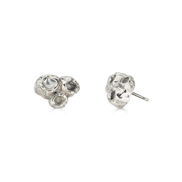 Barnacle Studs, Silver