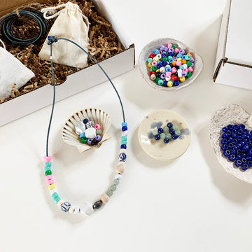 Bead and String Composition - Creativity Kit