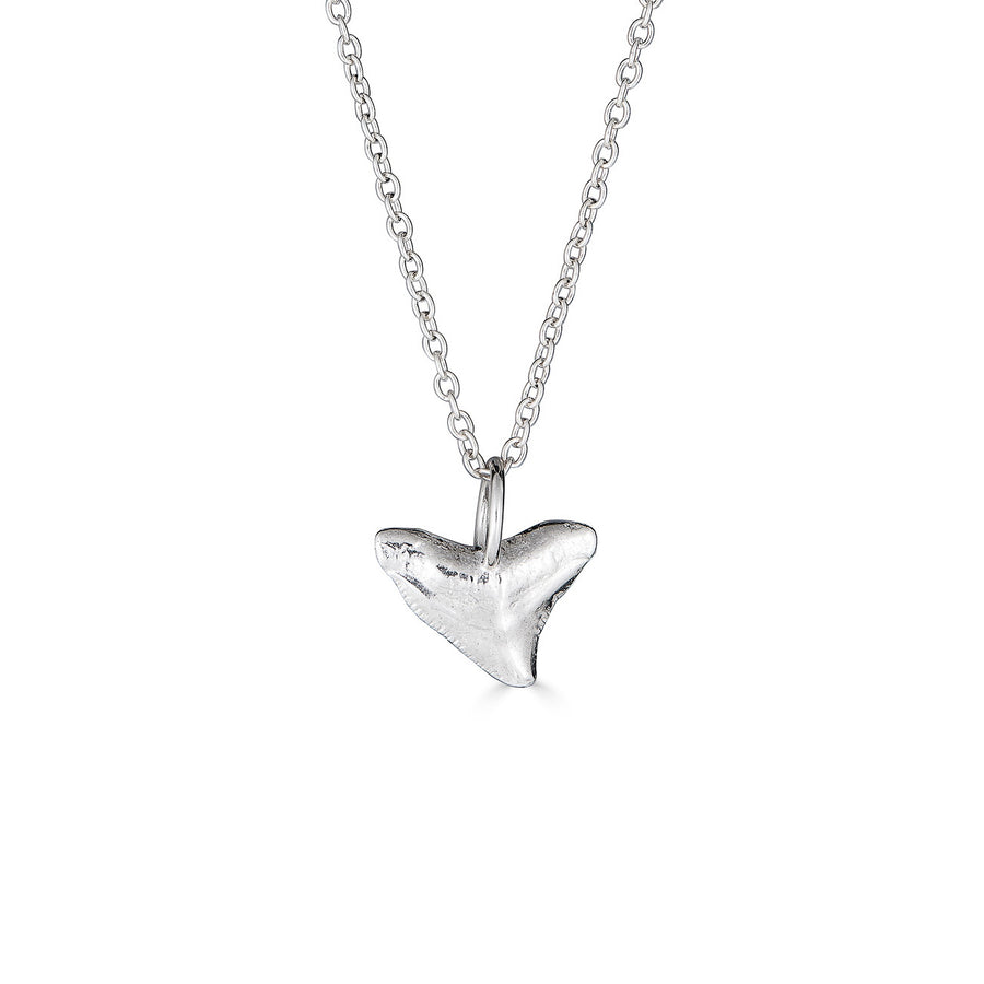 Bull Shark Necklace, Silver