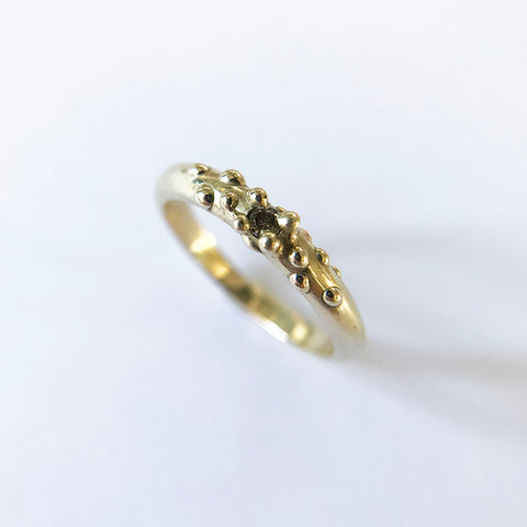 Diamond Bubble Ring, 14k