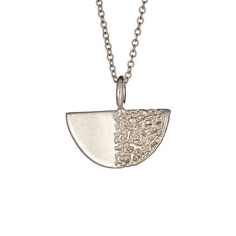 Disco Necklace, Silver