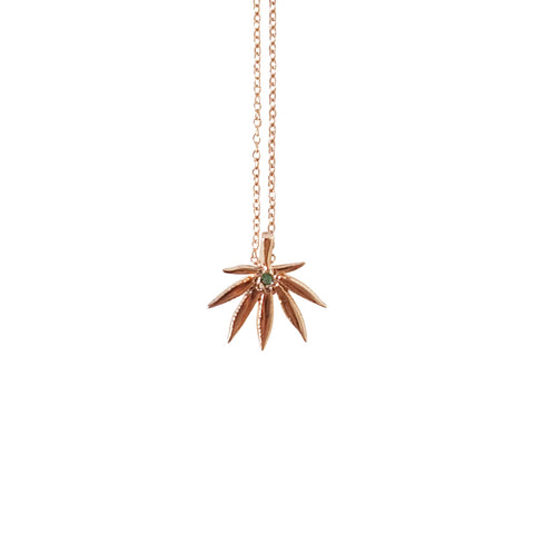 Happy Leaf Necklace