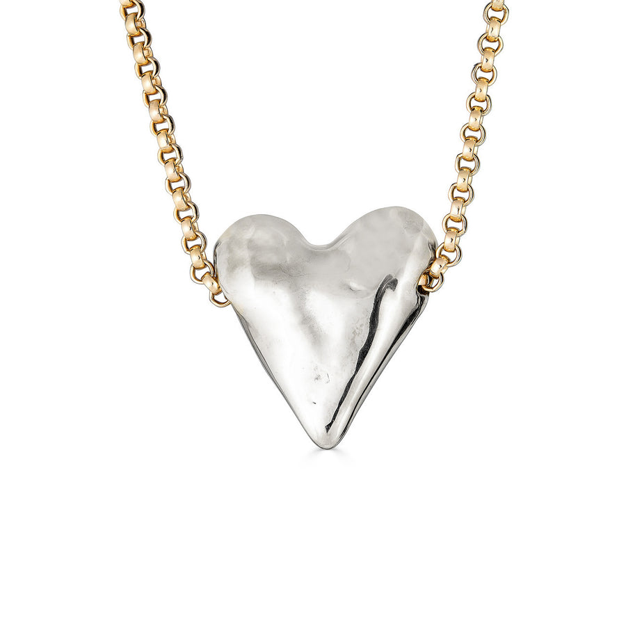 Love Necklace, Silver