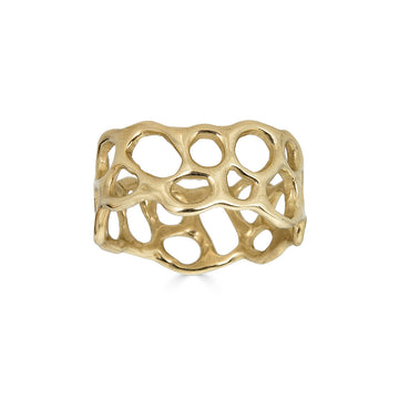 Morel Ring, 14k