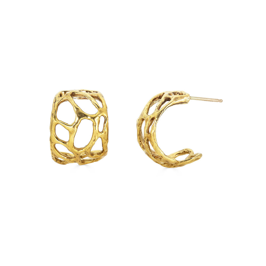 Morel Hoops, 14k