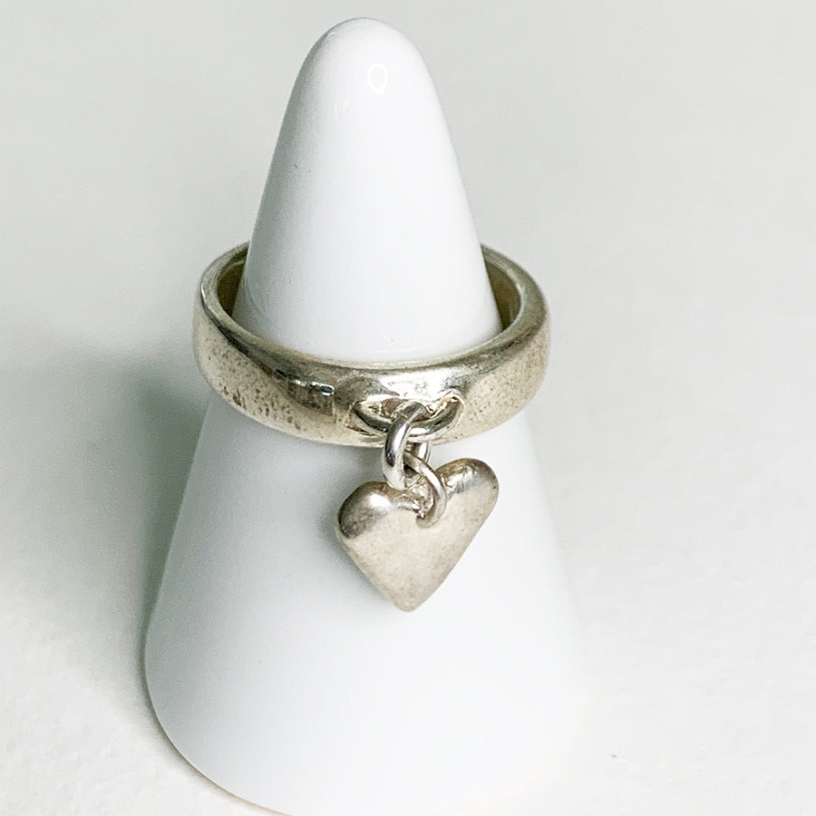 Swinging Charm Ring