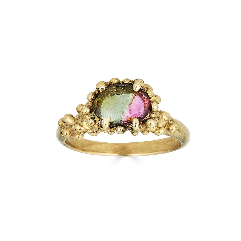 Tourmaline Cocktail Ring, 14k
