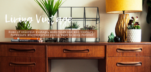 Mid-century vintage furniture