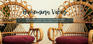 Bohemian vintage furniture