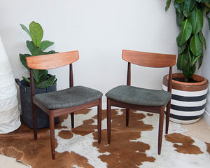 G Plan Victor Wilkins Mid-Century Dining Chairs