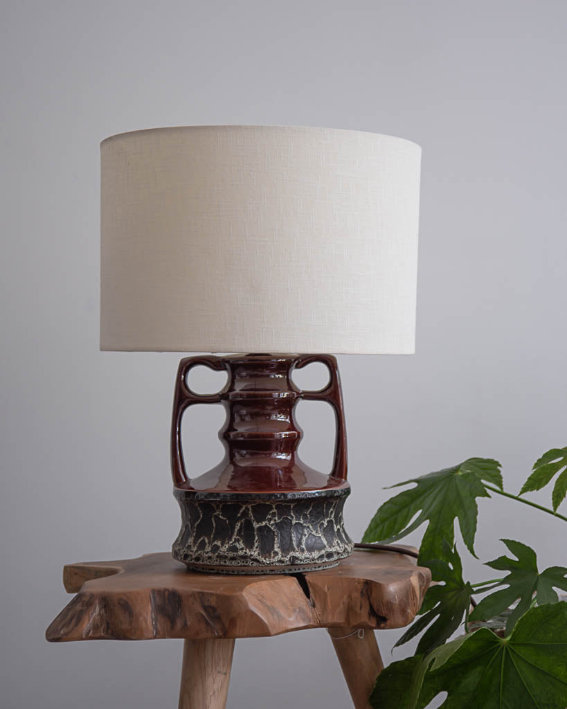 German Ceramic Table Lamp