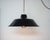 French Enamelled Hang & Plug Pendant Light