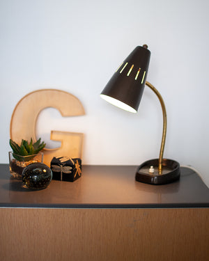 Mid Century Desk Lamp (Bronze)