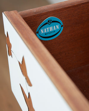 Nathan Customised Mid Century Teak & Formica Sideboard