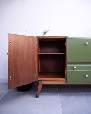 Mid Century Sideboard Cocktail Bar